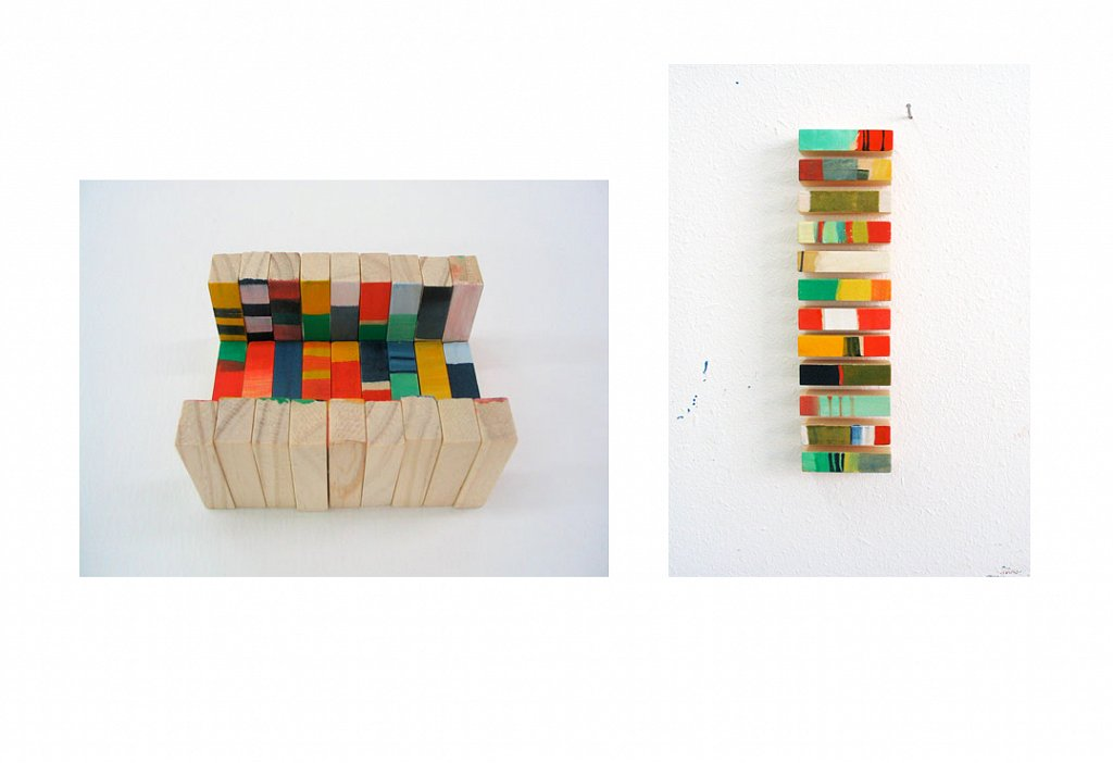 colourful jenga